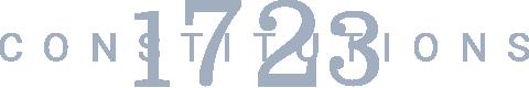 1723 Constitutions